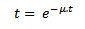 fórmula distribución exponencial negativa