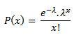 fórmula Poisson